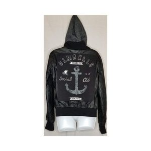 GLMR KLLS hooded jacket